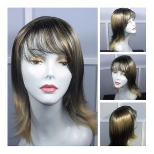 Synthetic African American Mix Color Wig NEW RARE